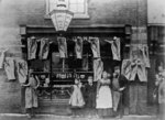 B. J. Dunn, Butchers Shop, Great Brickkiln Street, Wolverhampton, circa 1896 by Unknown - print