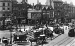 Queen Square, Wolverhampton, 1916 by unknown - print
