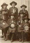 Tettenhall Wood Girl Guides, 1930s by Unknown - print