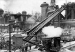 Relining furnace No. 5, Bilston Steelworks, 1940s by unknown - print
