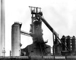 Elisabeth Furnace, Bilston Steelworks, 1970 by unknown - print