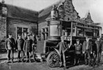 GWR Motor Bus, Wolverhampton, 1904 by unknown - print