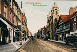 Darlington Street, Wolverhampton, circa 1910 by unknown - print