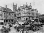 Queen Square, Wolverhampton , Early 20th century by unknown - print