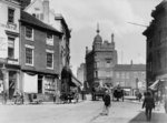 Queen Square, Wolverhampton, circa 1890s by unknown - print