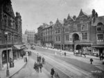 Queen Square, Wolverhampton, circa 1911 by unknown - print