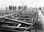Building sewers, Lunt Lane, Bilston, Early 20th century by Unknown - print