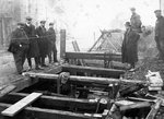 Building sewers, Wolverhampton Road, Bilston, Early 20th century by unknown - print