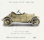Star Car, Star Engineering Co. Ltd., 1910 by Unknown - print