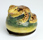 Frog shaped snuff box by unknown - print
