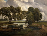 On the Trent, 1861 by Frederick Richard Lee - print