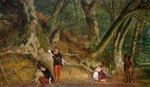 The Children in the Wood, 1862 by Richard Redgrave - print