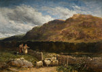 Counting the Flock, 1852 by David Cox - print