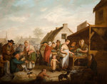The Scottish Market Place, 1818 by unknown - print