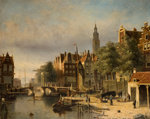 Rotterdam, 1850 - 1910 by William J Pringle - print