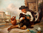 The Melon Seller, Mid 19th century by William Knight Keeling - print