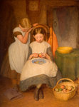 Preparing for Dinner, 19th century by Edward Davis - print