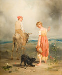 The Heath Belle, 1831 by David Cox - print