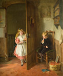 The Naughty Boy, 1867 by George Bernard O'Neill - print