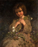 Wild Flowers, 19th century by James Sant - print