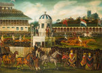 Race for Wolverhampton Stakes 1839, 1840 by William J Pringle - print