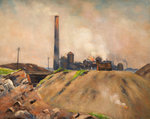 Capenfield Furnaces by Edwin Butler Bayliss - print