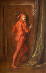 Mephistopheles, Late 19th century by Alfred Montague - print