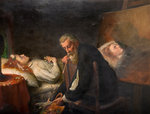 Tintoretto Painting His Dead Daughter, 1873 by Henry Nelson O'Neill - print