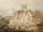 High Green, Wolverhampton, 1795 by George Wallis - print