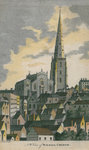 NW View of Walsall Church by Unknown - print