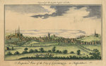 Perspective View of the City of Lichfield, 1795 - 1798 by Unknown - print