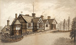 Wightwick Manor by Unknown - print