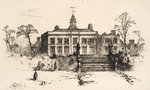 Molineux House, Wolverhampton from Remnants Of Old Wolverhampton (Vol.I. 1880. No.s 1-37), 1880 by John Fullwood - print