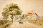 On the Merridale Road, 1830 - 1896 by Charles Gregory - print