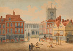 Lichgate From Queen Square, 1815 - 1825 by Joseph Mallord William Turner - print