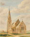 Heath Town Church by Joseph Mallord William Turner - print