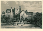 Throwley Hall Poster Art Print by English School