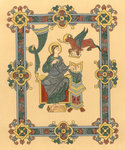 Illuminated Manuscripts in the British Museum. Miniatures, Borders and Initials., 1900 by George Wallis - print