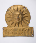 Sun Alliance firemark, 1774 by Unknown - print