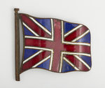 Enamelled Union flag badge