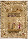 Sampler stitched with a poem, Martha Baileys Work Done In The 10th Year Of Her Age, 1817
