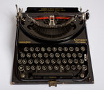 Remington Compact Portable typewriter by unknown - print