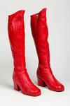 Knee-high boots by Clark's, c.1965 by unknown - print