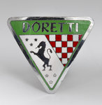 Swallow Doretti vehicle badge, 1953 - 1955 by Unknown - print