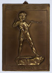 Metcraft Peter Pan plaque, Walsall Lithographic Company Limited by unknown - print