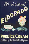 Eldorado Pure Ice Cream poster, printed by Walsall Lithographic Company Limited, 1950s by unknown - print