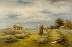 Haymaking, 1876 by Benjamin Williams Leader - print