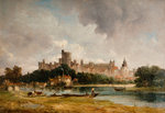 Windsor Castle from the Thames, 1790 - 1868 by Alfred Vickers - print