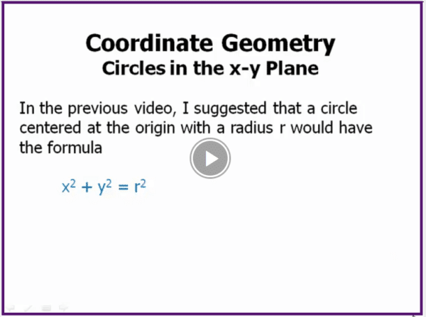 ACT math topics coordinate geometry practice