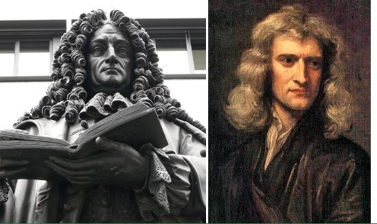 Leibniz and Newton